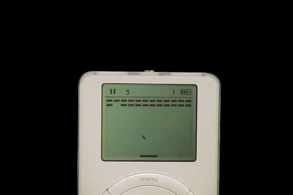 Apple's First iPod Had a Secret Game