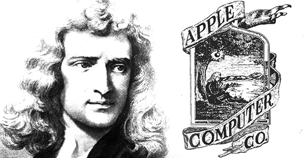 Isaac Newton Was Featured in the Original Apple Logo