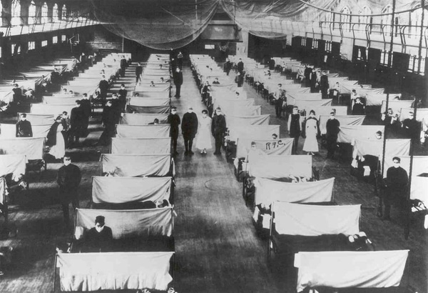 World War I Helped Spread the Pandemic Spanish Flu