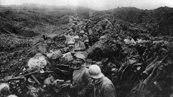 World War I Soldiers Suffered High Casualty Rates.