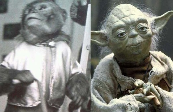Yoda was Almost Played by a Monkey