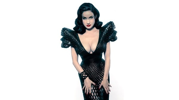 Dita Von Teese Wore the First 3D Printed Dress