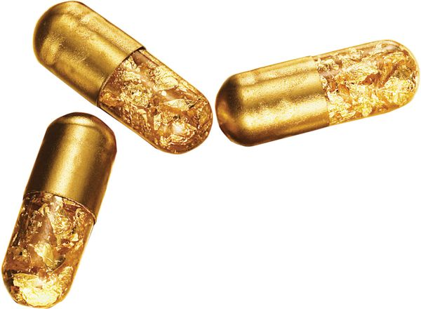 Gold Can be Used to Fight Cancer.