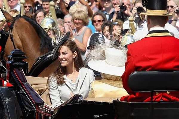 Kate Middleton is Allergic to Horses