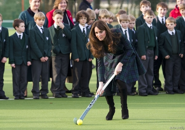 From 'Squeak' to Duchess of Cambridge