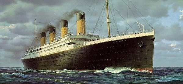 "RMS- The Titanic as a ""Royal Mail Steamer"""