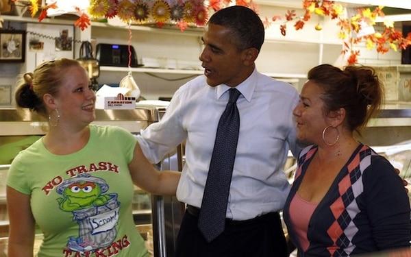 Ladies Love Obama