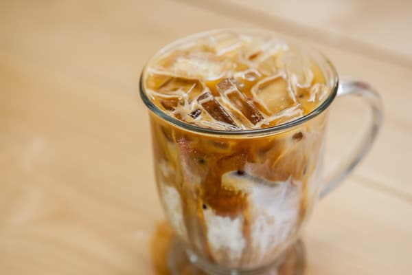 Coffee is More Expensive When it's Iced.
