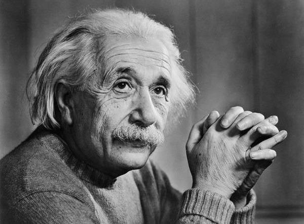 Albert Einstein bad memory