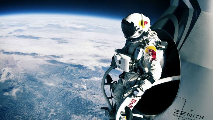 Red Bull Actually Put Someone Into Space