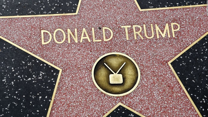 Donald Trump has a star on the Hollywood Walk of Fame.