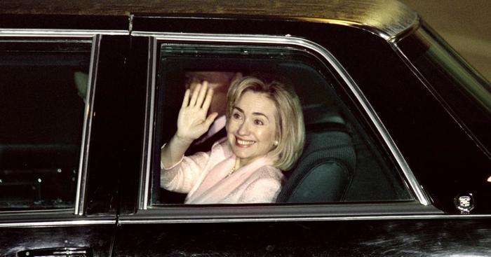 Hillary Hasn't Driven a Car Since 1996.