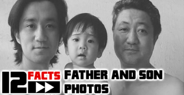 father and son photos featured
